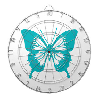 Turquoise Butterfly fly,caterpillar,pattern,insect Dart Boards