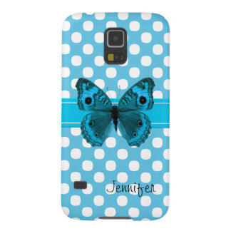 Turquoise Butterfly Samsung Nexus Phone Case Galaxy S5 Cases