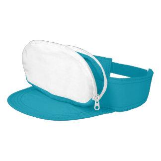Turquoise Cap-sac Visor