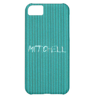 Turquoise Cardboard iPhone 5 Cover Template