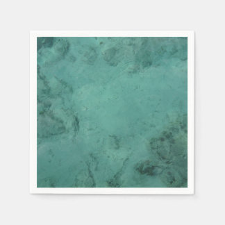 Turquoise Caribbean Tropical Sea Napkin