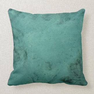 Turquoise Caribbean Tropical Sea Pillow