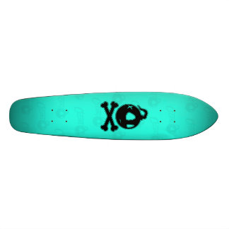 Turquoise cecart Skateboard! Custom Skateboard