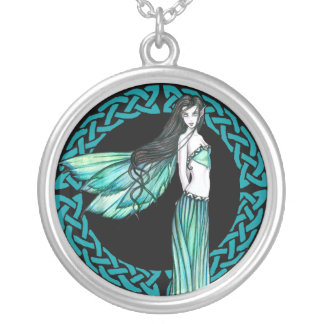 Turquoise Celtic Fairy Necklace