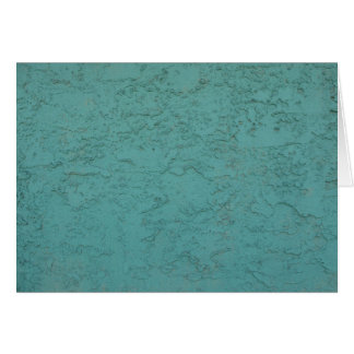 turquoise cement card