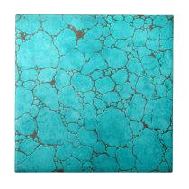 turquoise ceramic tile