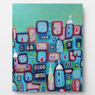Turquoise City Plaque