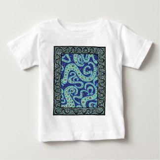 Turquoise Cogitating Baby T-Shirt