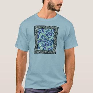 Turquoise Cogitating T-Shirt
