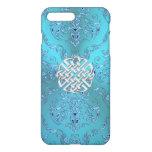 Turquoise Damask Celtic Knot iPhone 8 Plus/7 Plus Case