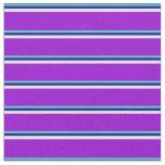 [ Thumbnail: Turquoise, Dark Blue, Light Cyan, and Dark Violet Fabric ]