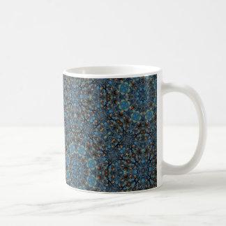 Turquoise Dazzler 3 Mug Basic White Mug