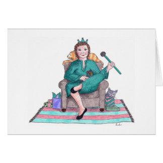 Turquoise - December birthday Card