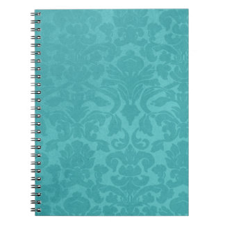 Turquoise Design Personalized Note Book