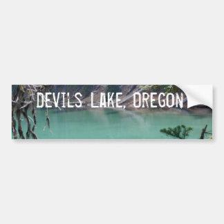 Turquoise Devils Lake, Oregon Bumper Sticker