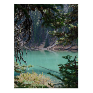 Turquoise Devils Lake, Oregon Postcard