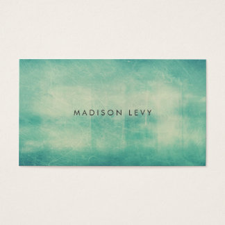 Turquoise Distressed Texture Appointment Cards