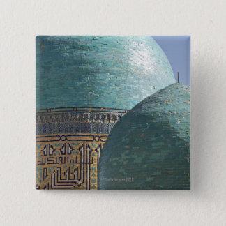 Turquoise domes, Shahr i Zindah mausoleum Button