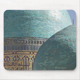 Turquoise domes, Shahr i Zindah mausoleum, Mouse Pad