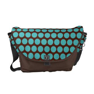 Turquoise Dots Baby Diaper Travel Bag Gift
