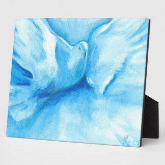 Turquoise Dove Plaque