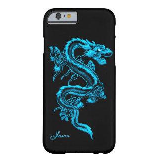 Turquoise Dragon Custom iPhone 6 case