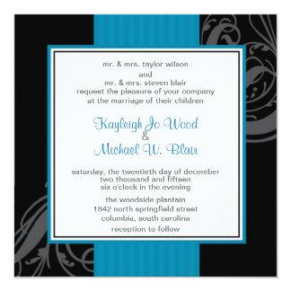 Turquoise Dream Invitation