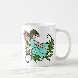 Turquoise Faerie Mug