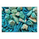 Turquoise Fallen Sky Stone Card