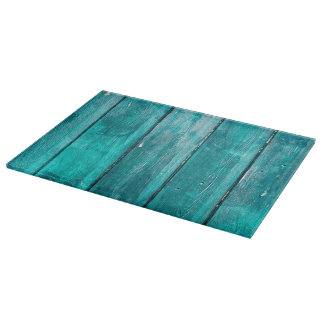Turquoise Fence Cutting Board
