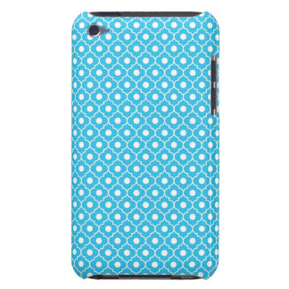 Turquoise Flower Argyle Pattern 2 iPod Touch Case