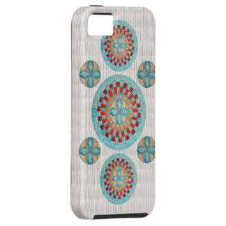 Turquoise Flower iPhone SE/5/5s Case