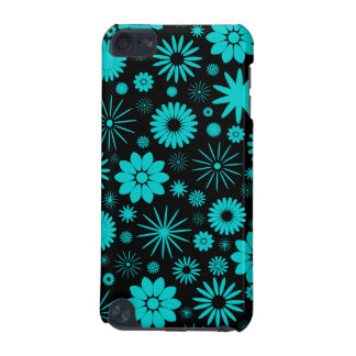 Turquoise Flowers  iPod Touch 5G Cover