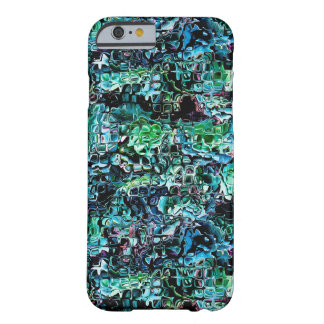 Turquoise Garden of Glass Barely There iPhone 6 Case