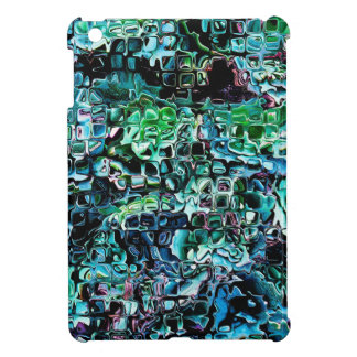 Turquoise Garden of Glass iPad Mini Cover