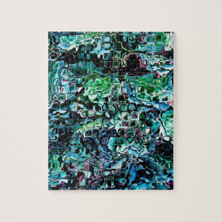 Turquoise Garden of Glass Jigsaw Puzzle