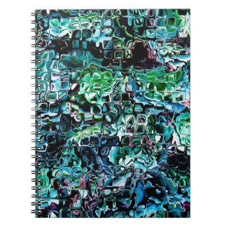 Turquoise Garden of Glass Notebook