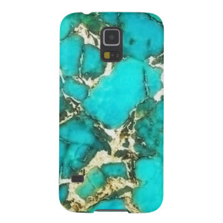 Turquoise Gemstone with Pyrite Matrix Galaxy S5 Cover