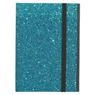 Turquoise Glitter Sparkles Case For iPad Air
