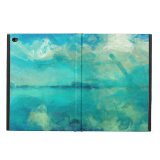 Turquoise Green Calm Summer Day Abstract Art Powis iPad Air 2 Case