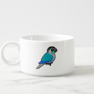 Turquoise Green-cheeked Conure Bowl