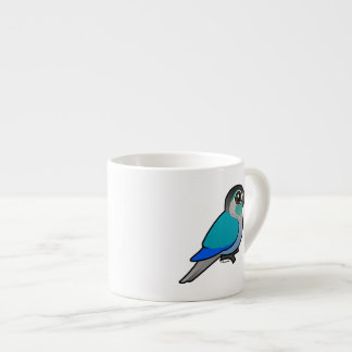 Turquoise Green-cheeked Conure Espresso Cup