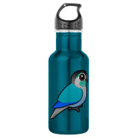 Turquoise Green-cheeked Conure Water Bottle (24 oz)