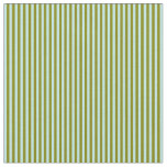 [ Thumbnail: Turquoise & Green Colored Lined/Striped Pattern Fabric ]