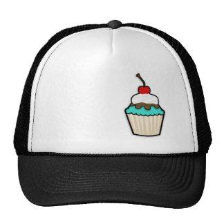 Turquoise Green Cupcake Hat