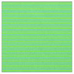 [ Thumbnail: Turquoise & Green Pattern Fabric ]
