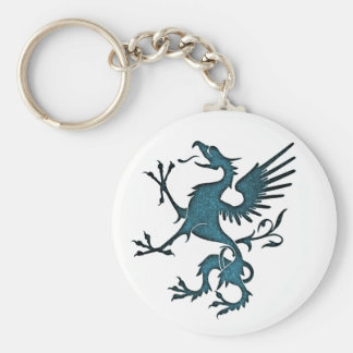 Turquoise Griffon (Eagle Lion) Keychain