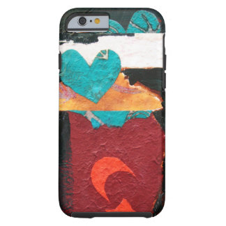 """""""Turquoise Heart"""" Tough iPhone 6 Case"""