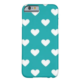 turquoise hearts iPhone 6/6s case