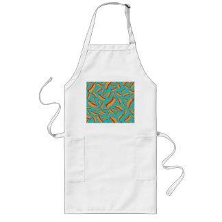 Turquoise hotdogs apron